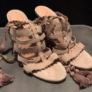 Ulla Johnson Suede Heels